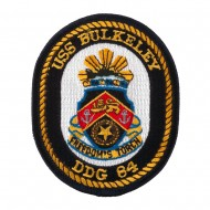 USS Rope Border Patches - USS Bulkeley