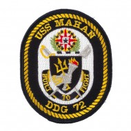 USS Rope Border Patches - USS Mahan