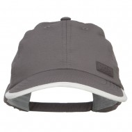 Cool Dry Soft Bill Performance Cap - Grey