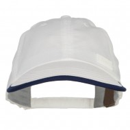 Cool Dry Soft Bill Performance Cap - White