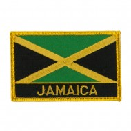 North and South America Flag Embroidered Patch - Jamaica