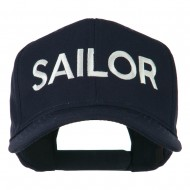 Sailor Embroidered Cap - Navy