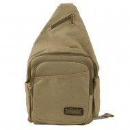 Canvas Sling Bag - Khaki