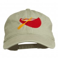 Sport Canoe Embroidered Washed Cap - Stone