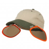 UV Clip On Shade Panel for Hats (Panel Only) - Orange