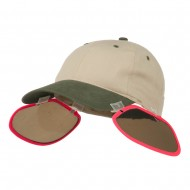 UV Clip On Shade Panel for Hats (Panel Only) - Pink