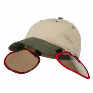 UV Clip On Shade Panel for Hats (Panel Only) - Red