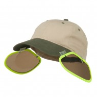 UV Clip On Shade Panel for Hats (Panel Only) - Yellow