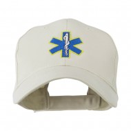 Star of Life Embroidery Cap - Stone