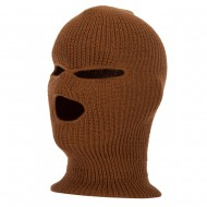 Ski Mask with Three Holes - Copper