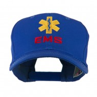EMS Logo Embroidered Cap - Royal