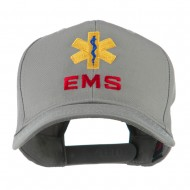 EMS Logo Embroidered Cap - Grey