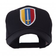 US Army Small Embroidered Patch Cap - Army