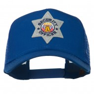 USA Security Officer Patched Mesh Back Cap - Royal
