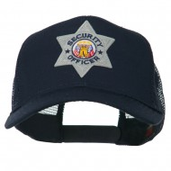 USA Security Officer Patched Mesh Back Cap - Navy