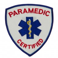 USA Security Rescue Patches - Paramedic Certified