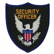 USA Security Rescue Patches - Security Officer