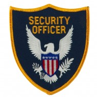 USA Security Rescue Patches - Yellow Security