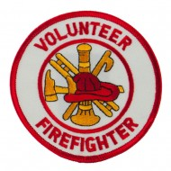 USA Security Rescue Patches - White Volunteer