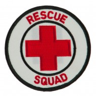 USA Security Rescue Patches - Rescue Squad