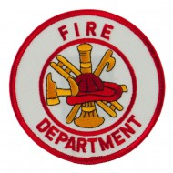 USA Security Rescue Patches - White Dept