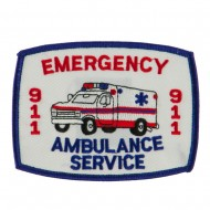 USA Security Rescue Patches - Emergency AS