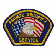 USA Security Rescue Patches - Navy Security