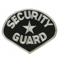 USA Security Rescue Patches - Black Guard