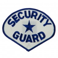 USA Security Rescue Patches - White Guard