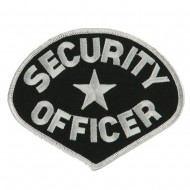 USA Security Rescue Patches - Black Security