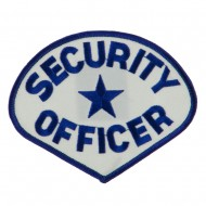 USA Security Rescue Patches - White Security