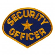 USA Security Rescue Patches - Navy Officer