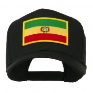South America Flag Embroidered Patched Cap - Bolivia
