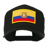 South America Flag Embroidered Patched Cap - Ecuador