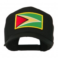 South America Flag Embroidered Patched Cap - Guyana