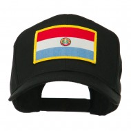 South America Flag Embroidered Patched Cap - Paraguay