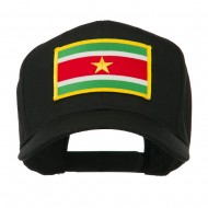 South America Flag Embroidered Patched Cap - Suriname