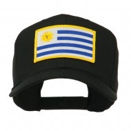South America Flag Embroidered Patched Cap - Uruguay