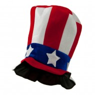 Stripes USA Hat - Red White Blue