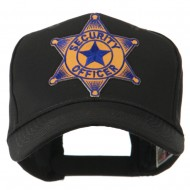 USA Security and Rescue Embroidered Patch Cap - Security Officer 4