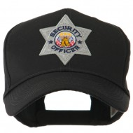 USA Security and Rescue Embroidered Patch Cap - Security Officer 6