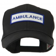 USA Security and Rescue Embroidered Patch Cap - Ambulance