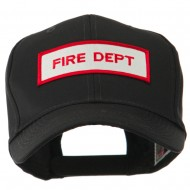 USA Security and Rescue Embroidered Patch Cap - Fire Dept