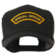 USA Security and Rescue Embroidered Patch Cap - Special Officer