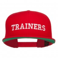 Ash Ketchum Trainers Embroidered Snapback Cap - Red