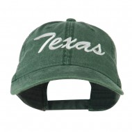 US Mid State Texas Embroidered Washed Cap - Dark Green