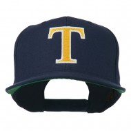 Greek Alphabet Tau Embroidered Cap - Navy