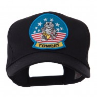 Air Force Tomcat Embroidered Military Patch Cap - Tomcat