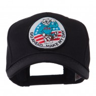 Air Force Tomcat Embroidered Military Patch Cap - Tomcat 2