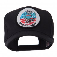 Air Force Tomcat Embroidered Military Patch Cap - Anytime